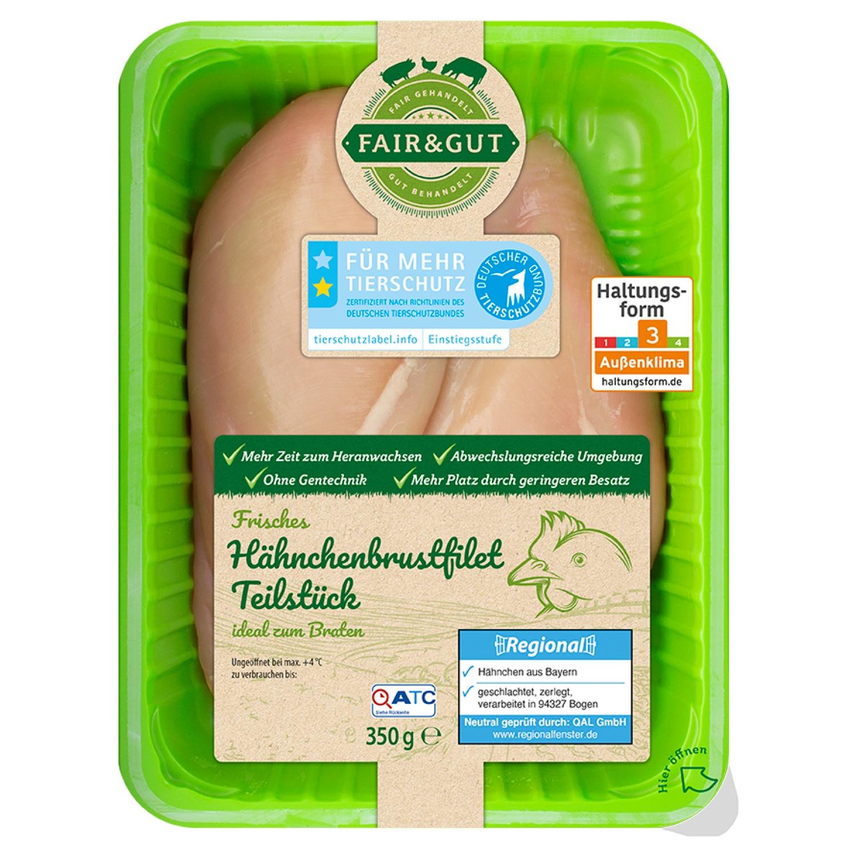 FAIR & GUT Hähnchenbrustfilet 350 g