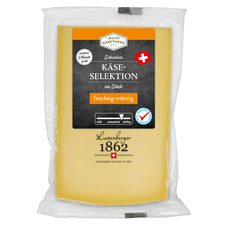 Meine Käsetheke Schweizer Käseselektion am Stück 220 g