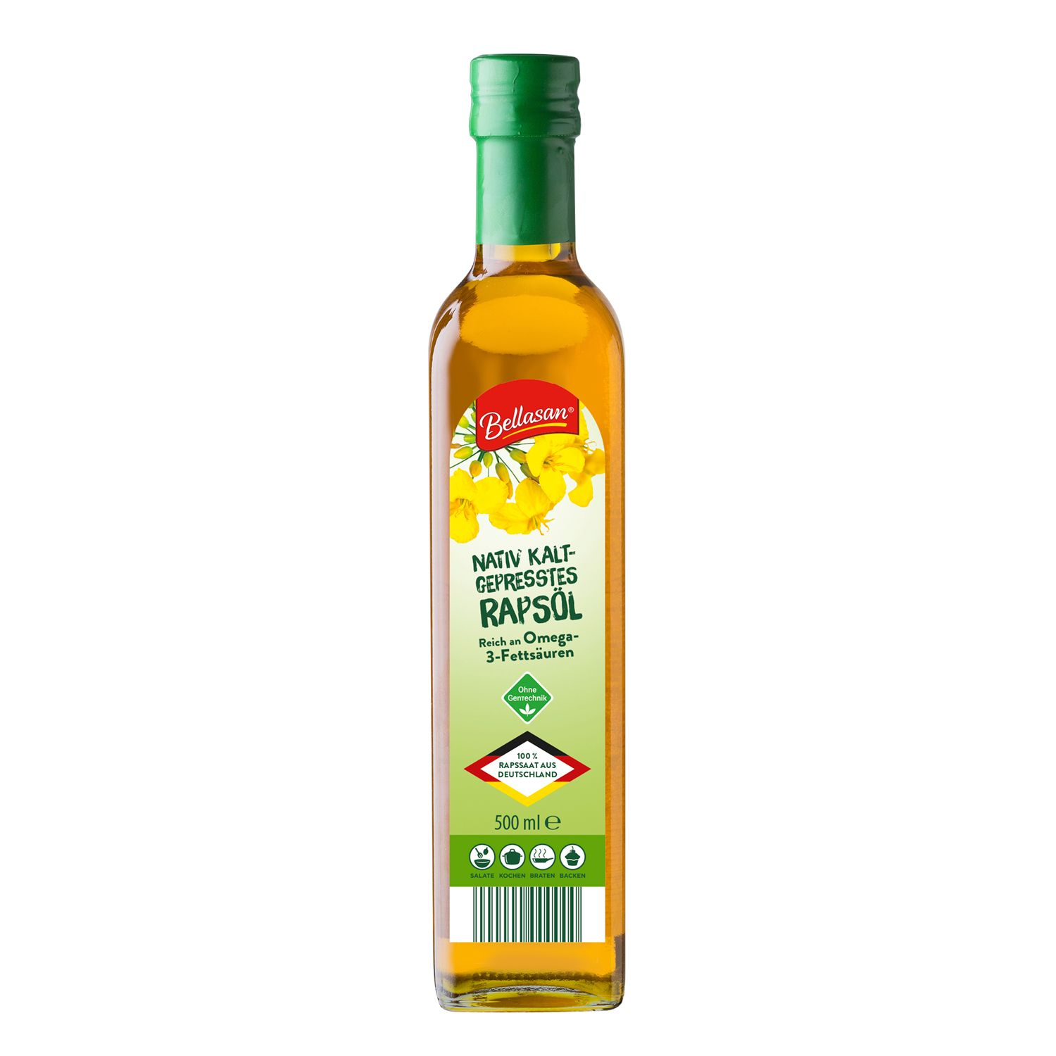 Bellasan Natives Rapsöl 500 ml