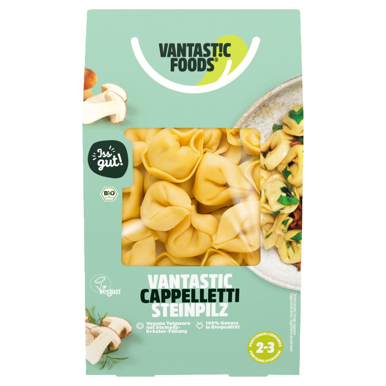 Vantastic Foods Bio-Cappelletti mit Steinpilz 250 g