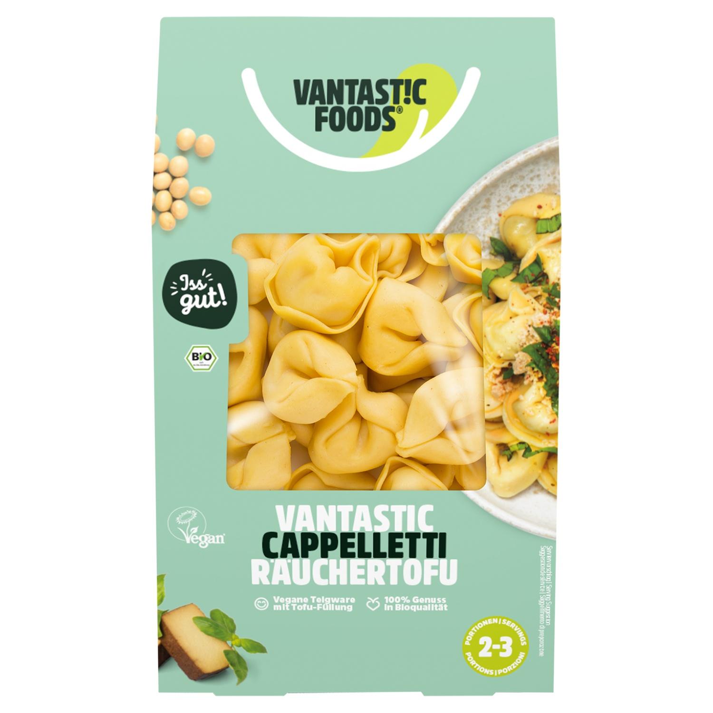 Vantastic Foods Bio-Cappelletti mit Räuchertofu 250 g