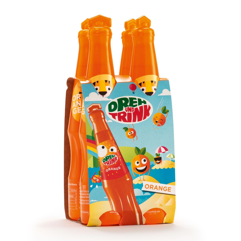 DREH UND TRINK, Orange