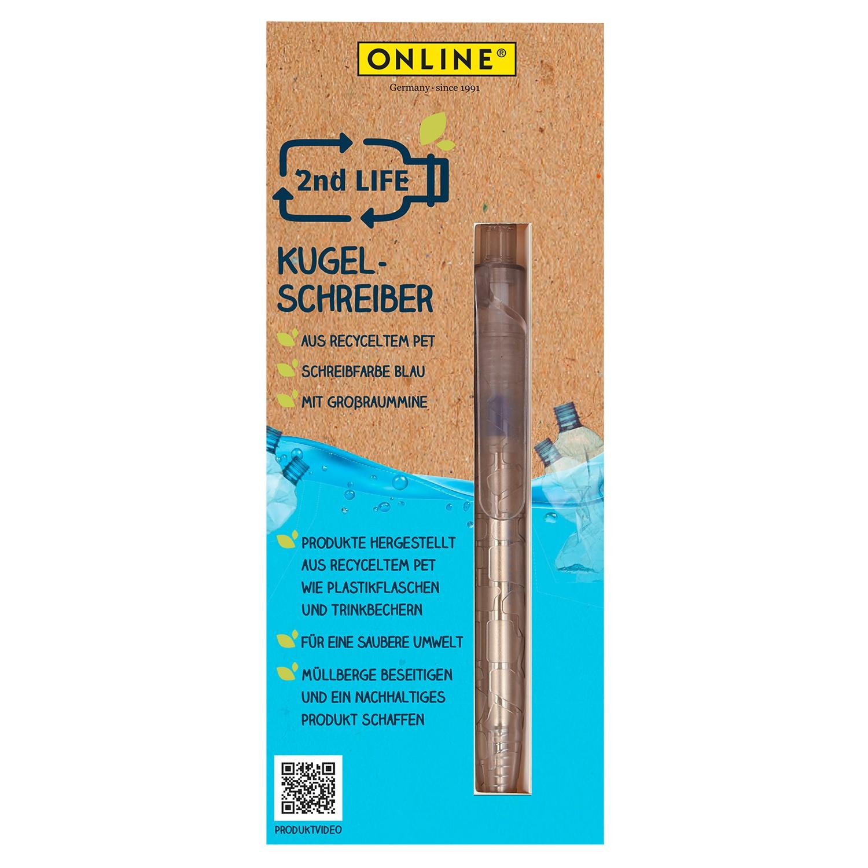 """ONLINE® Kugel-/Gelschreiber """"2nd Life""""*"""