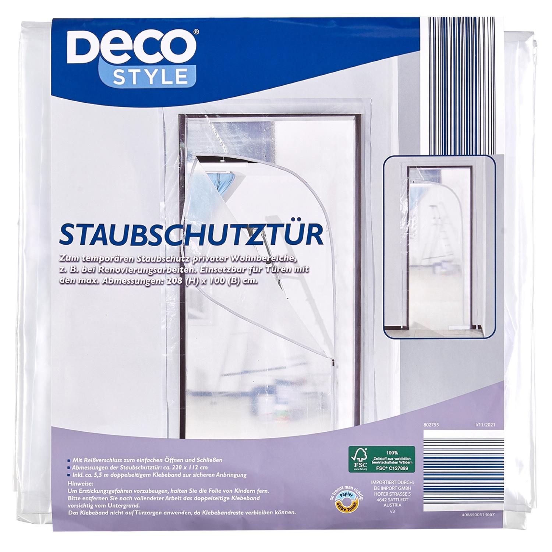 DECO STYLE® Staubschutztür*