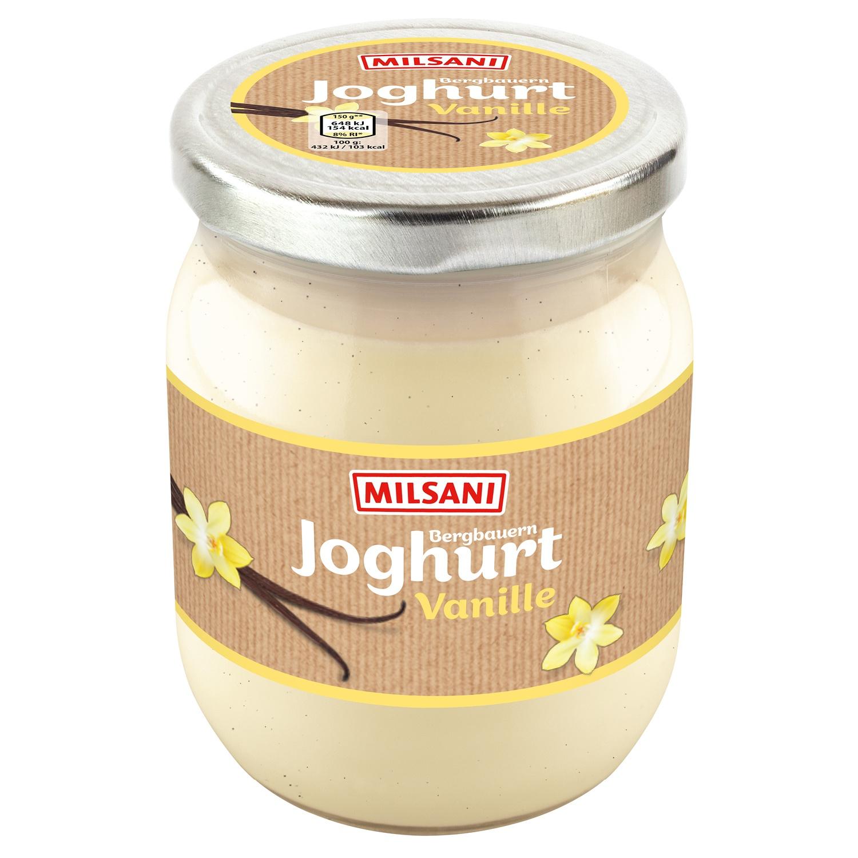 MILSANI Bergbauern-Fruchtjoghurt im Glas 450 g