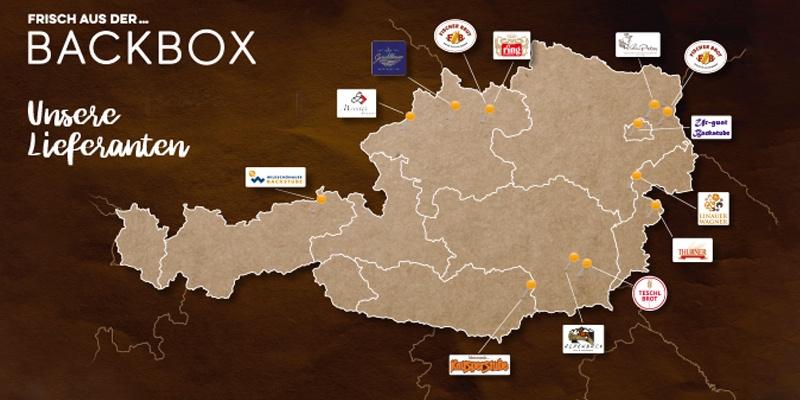Die Backwaren werden täglich mit viel Liebe und hochwertigen Zutaten von Traditionsbetrieben  aus Österreich vorbereitet.