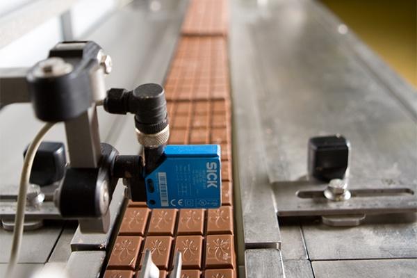 Schokolade Produktionsschritt Abbildung.