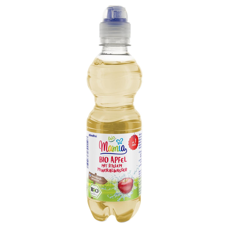 Mamia bio Bio Apfelsaft mit stillem Wasser 0,33 l