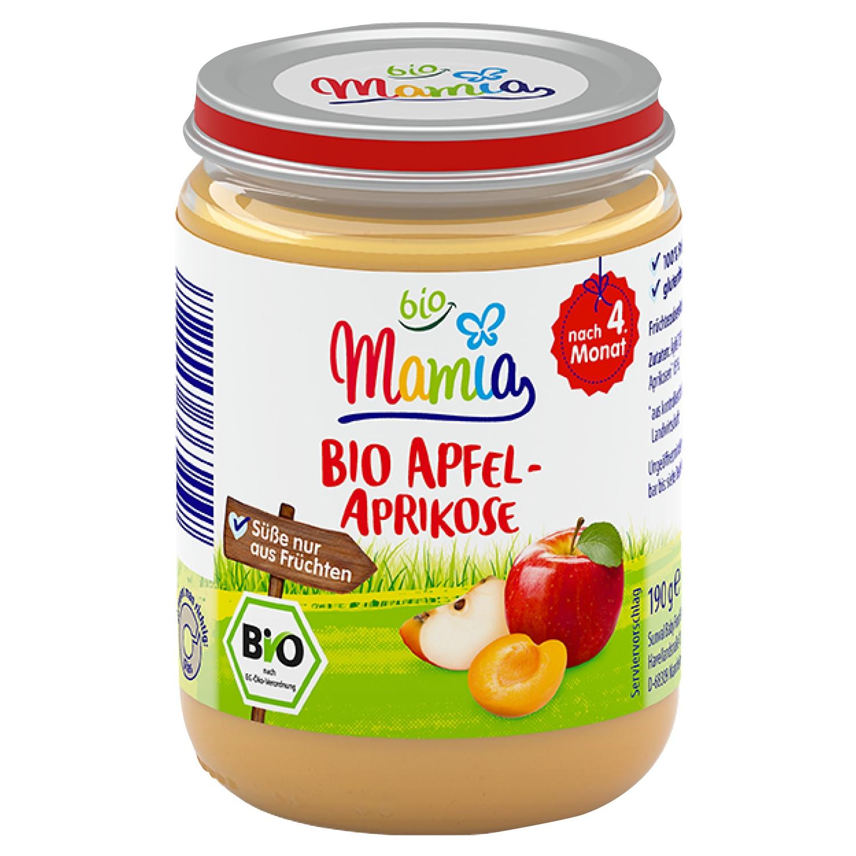 Mamia bio Apfel-Aprikose 190 g