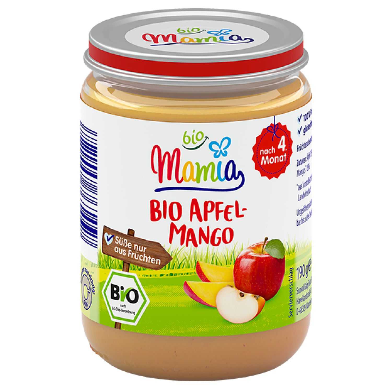 Mamia bio Bio Apfel-Mango 190 g