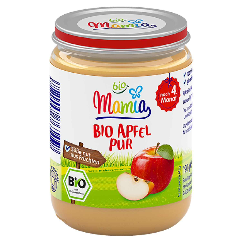 Mamia bio Bio Apfel pur 190 g