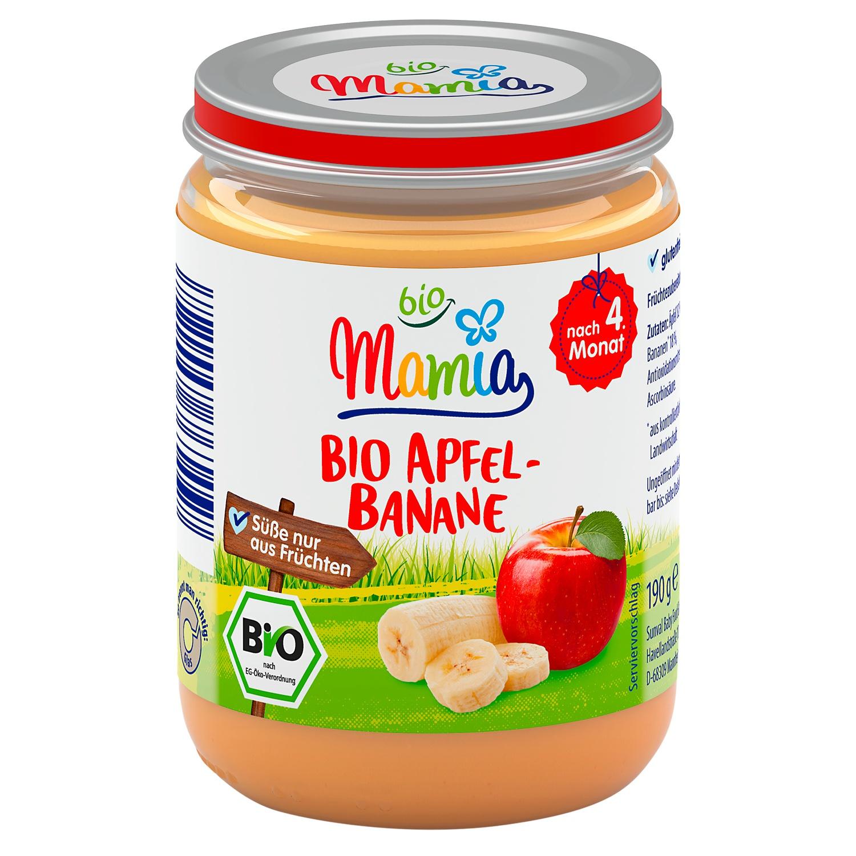 Mamia bio Bio Apfel-Banane 190 g