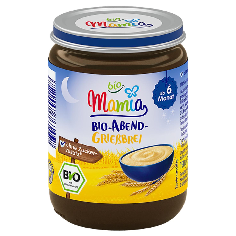Mamia bio Bio-Abend-Grießbrei 190 g