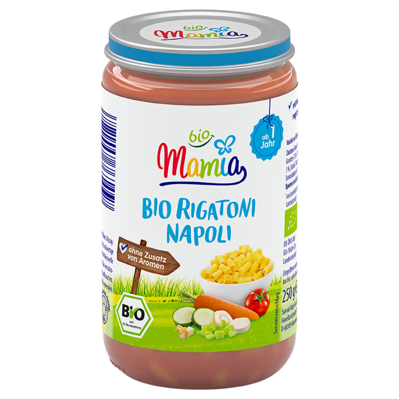 Mamia bio Bio Rigatoni Napoli 250 g