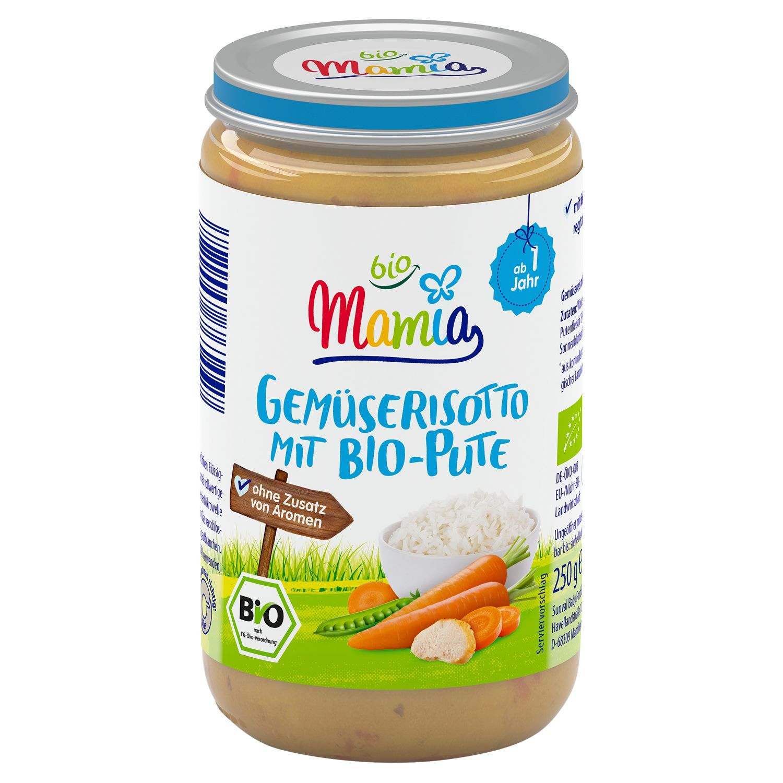 Mamia bio Gemüserisotto mit Bio-Pute 250 g