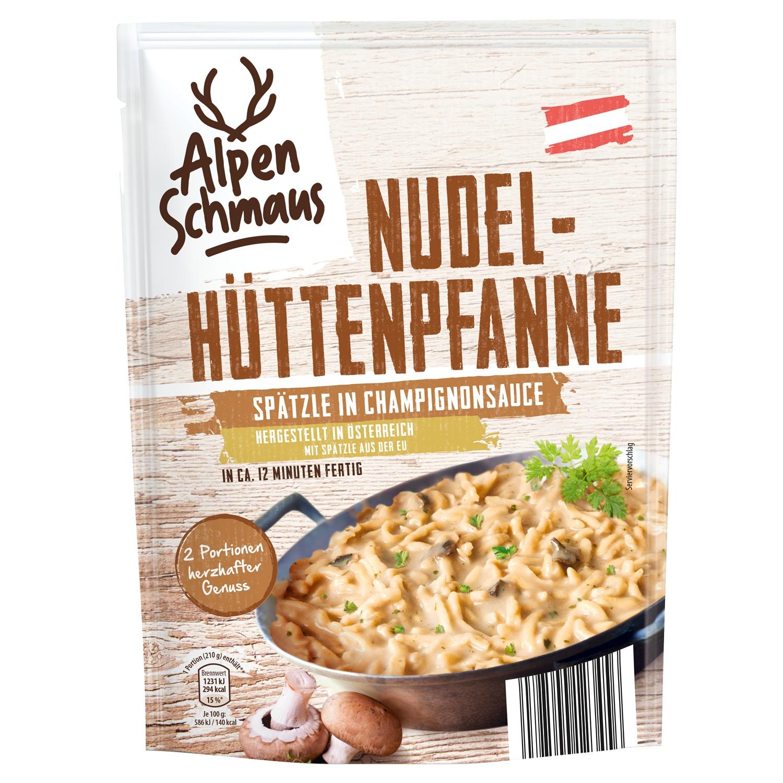 Alpenschmaus Nudel-Hüttenpfanne 151 g*
