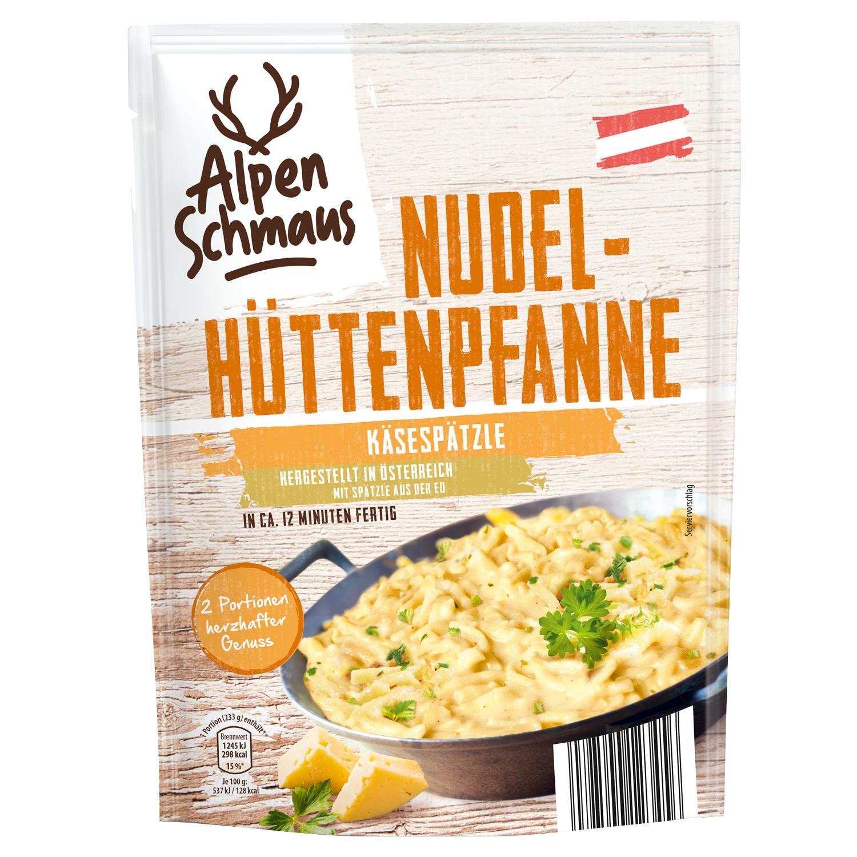 Alpenschmaus Nudel-Hüttenpfanne 149 g*