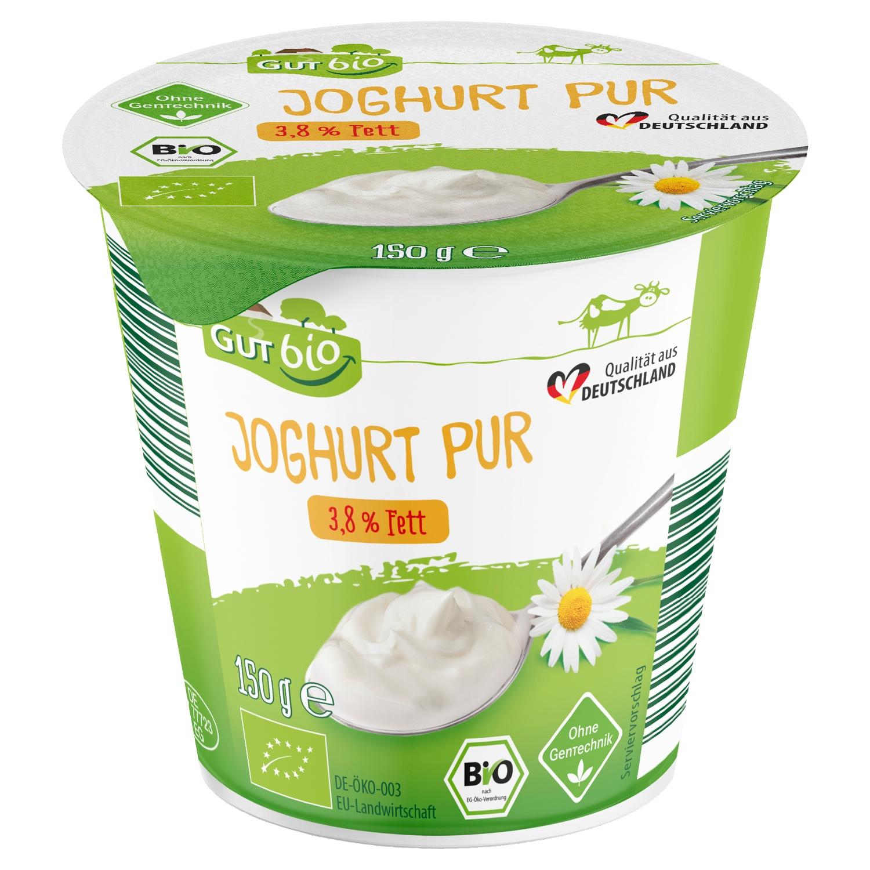 GUT bio Bio-Joghurt Pur 150 g