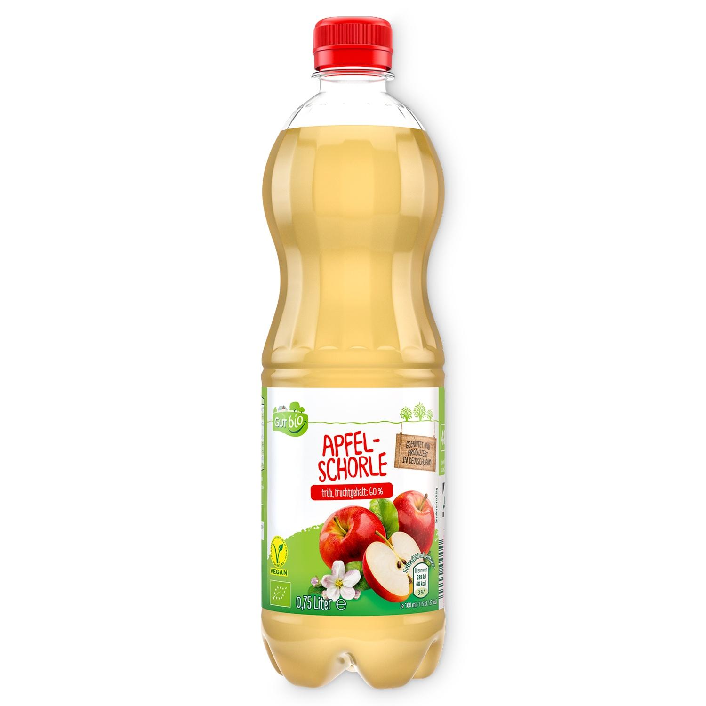 GUT bio Apfelschorle 0,75 l