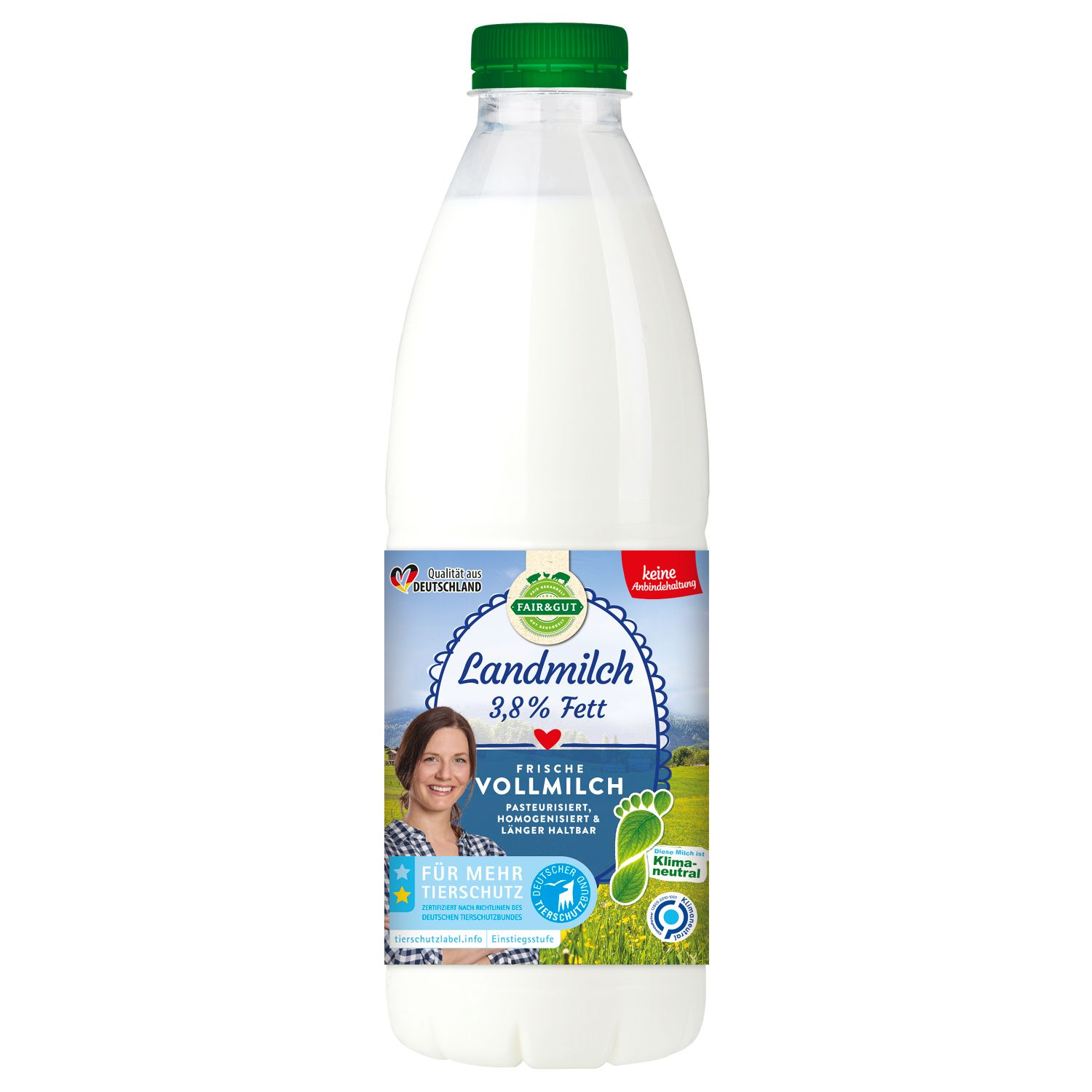 FAIR & GUT Landmilch 1 l