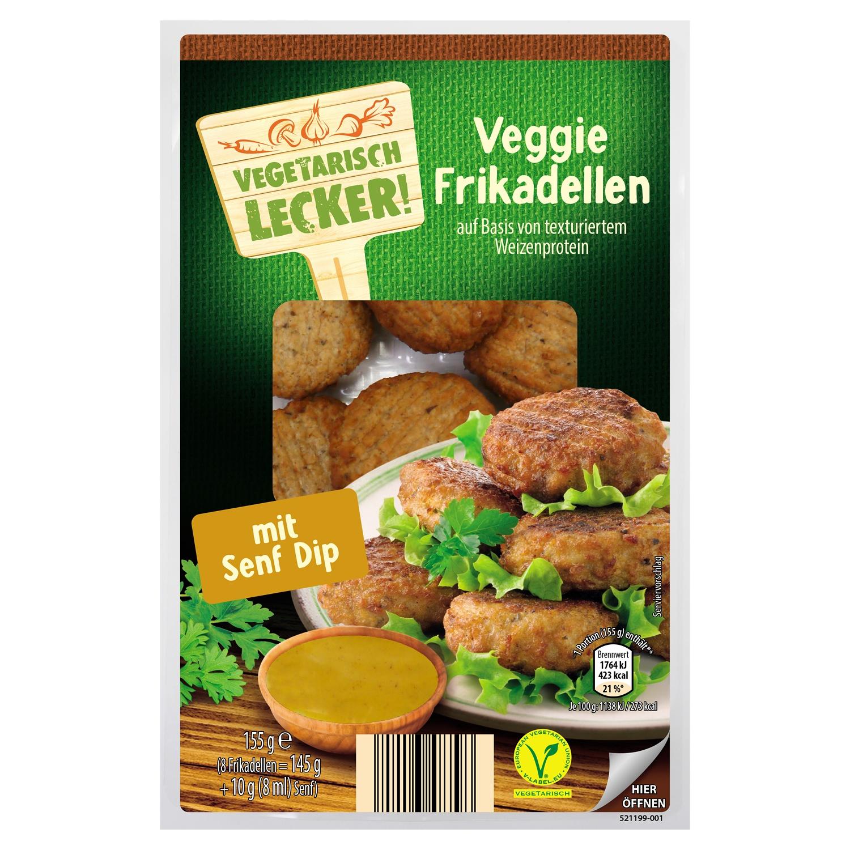 Vegetarisch Lecker Veggie Snack & Dip 155 g