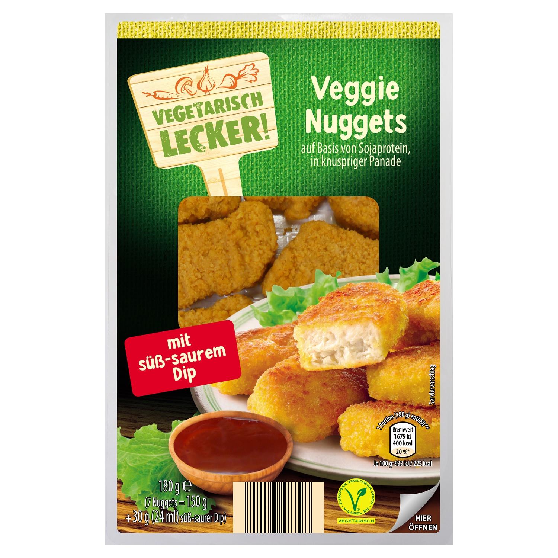 Vegetarisch Lecker Veggie Snack & Dip 180 g