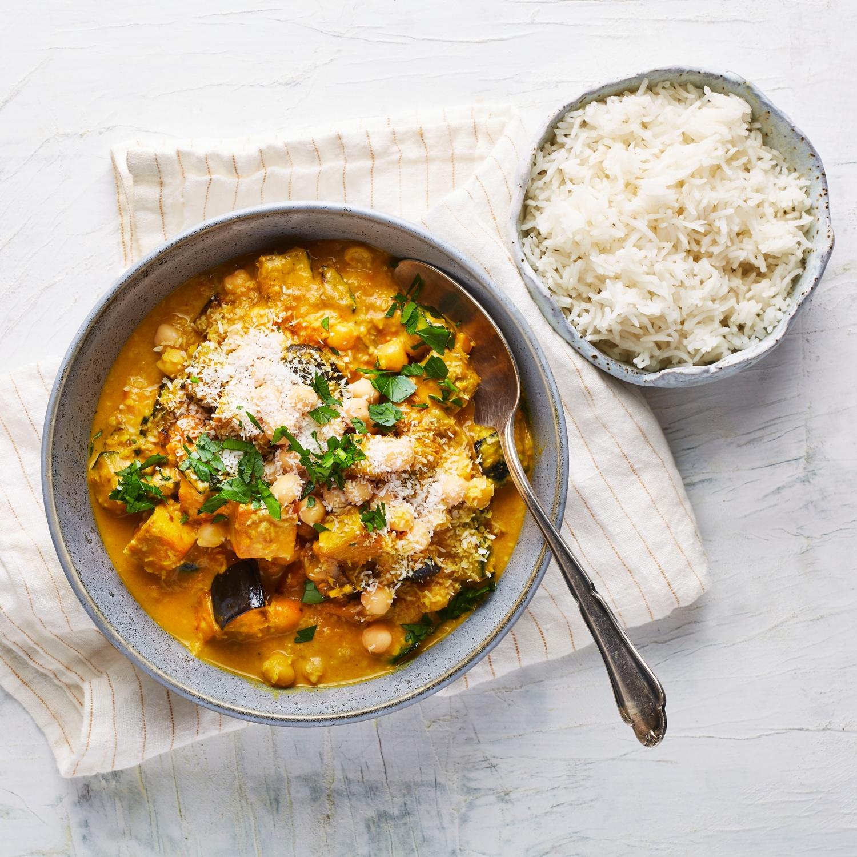 Veganes Tikka Masala mit Tofu