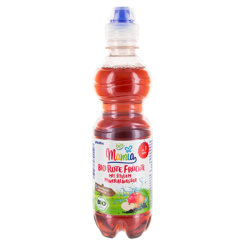 Mamia bio Bio Rote Früchte mit stillem Mineralwasser 0,33 l