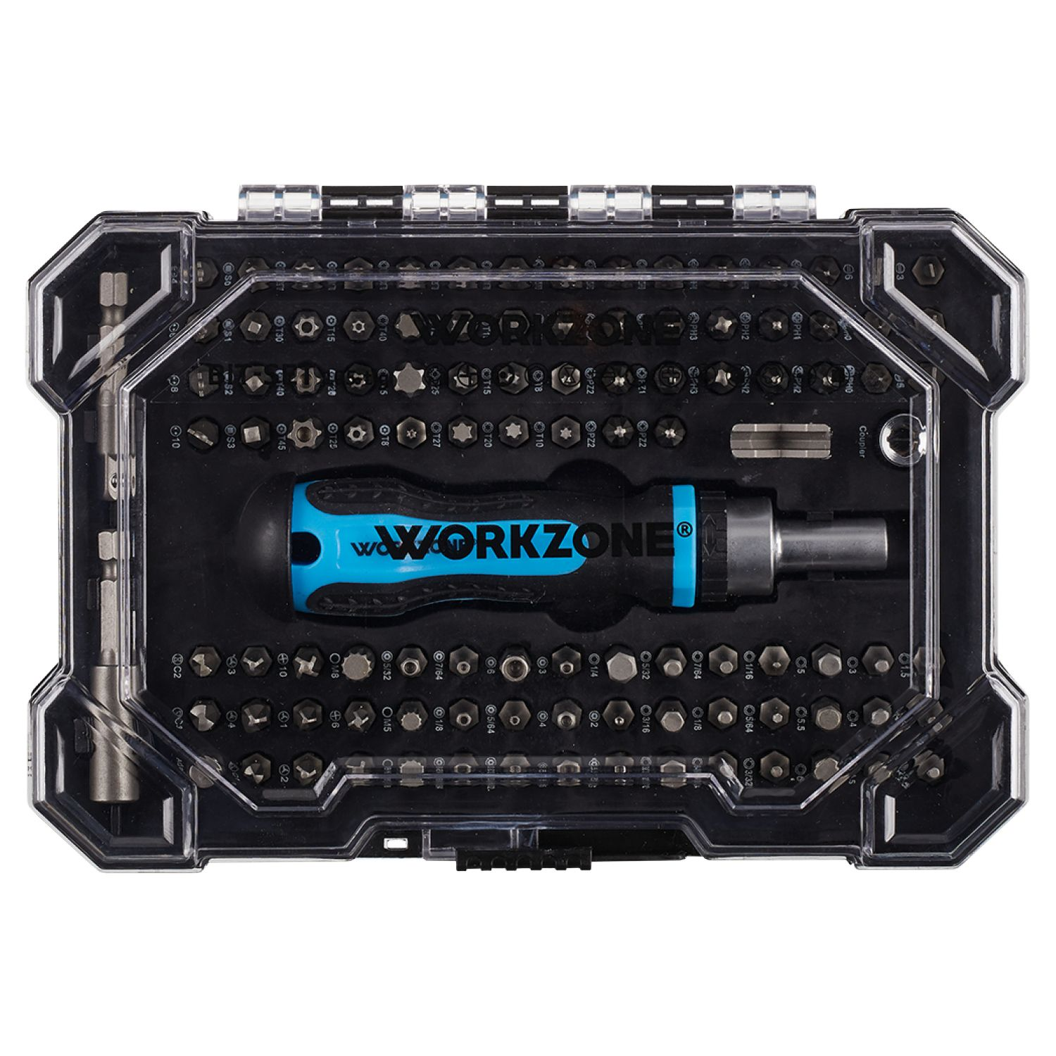 WORKZONE® Bit-Set, 105-tlg.*