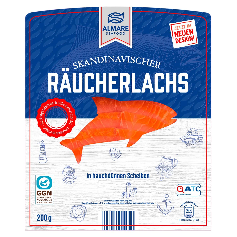 ALMARE Räucherlachs 200 g