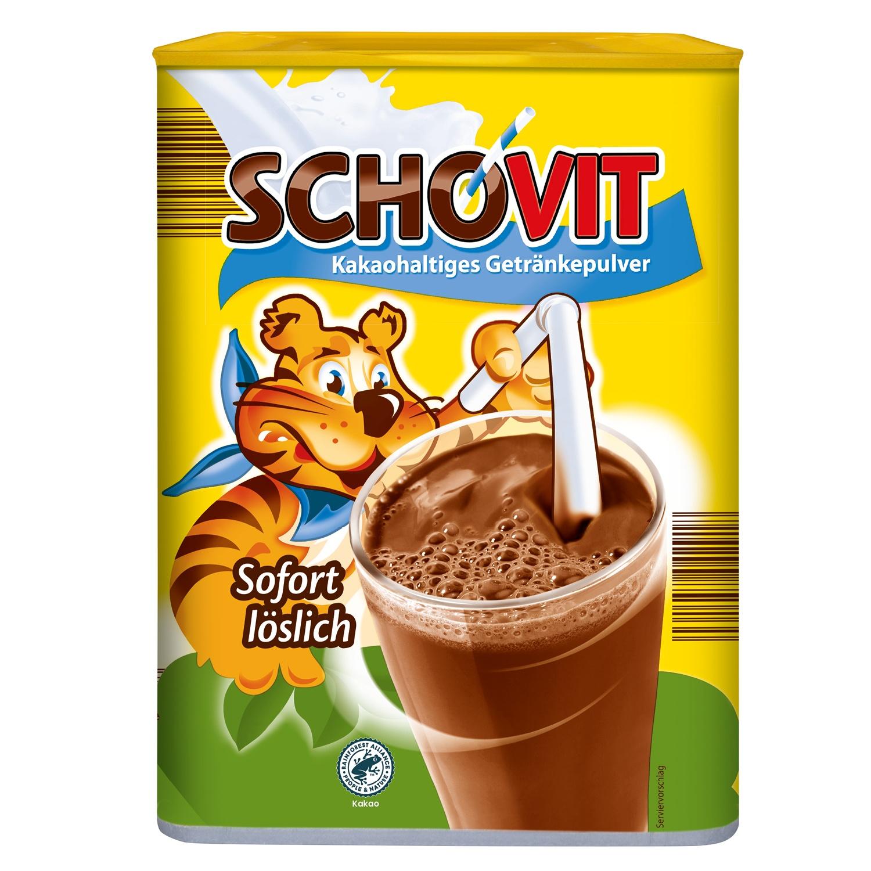 SCHOVIT Kakaohaltiges Getränkepulver 800 g