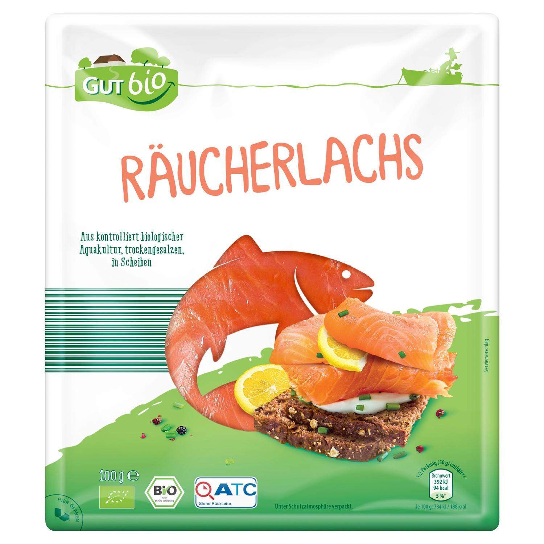 GUT bio Räucherlachs 100 g