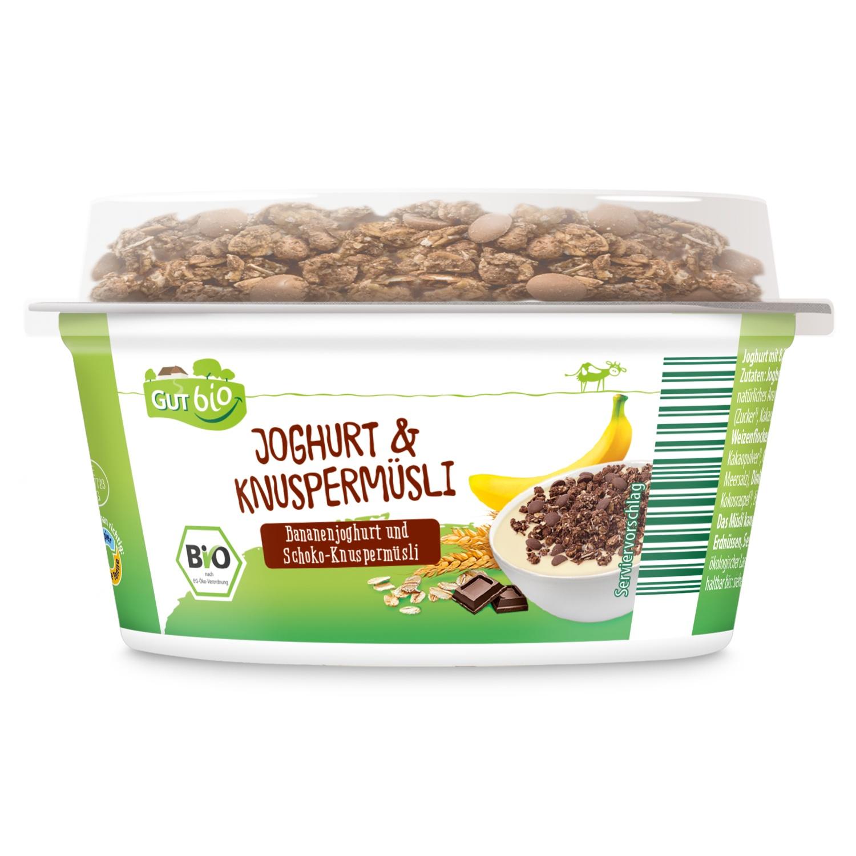GUT bio Bio-Joghurt & Knuspermüsli 150 g