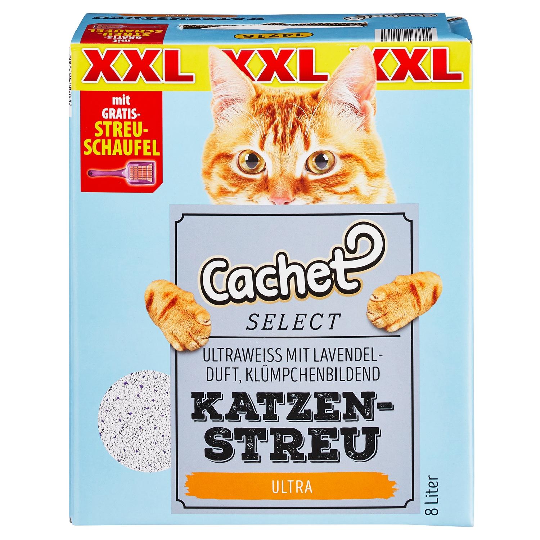 Cachet SELECT XXL-Katzenstreu mit Streuschaufel 8 l*