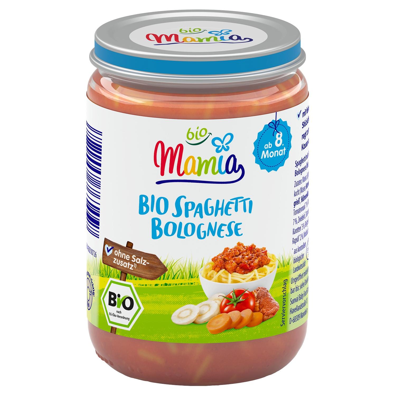Mamia bio Bio-Spaghetti Bolognese 220 g