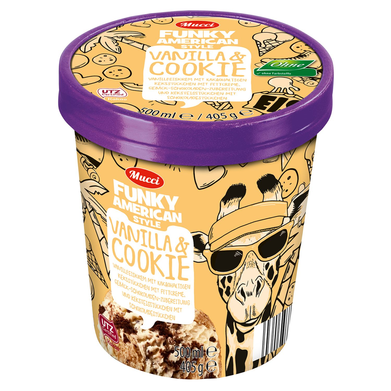 Mucci Funky American Ice Cream 500 ml