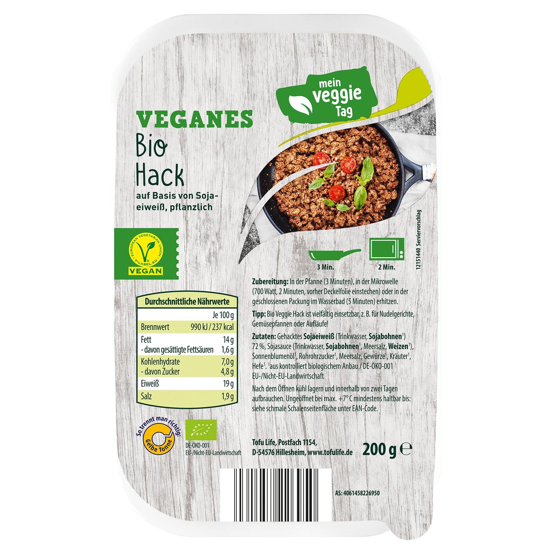 Mein Veggie Tag Vegane Bio Vielfalt 200 g