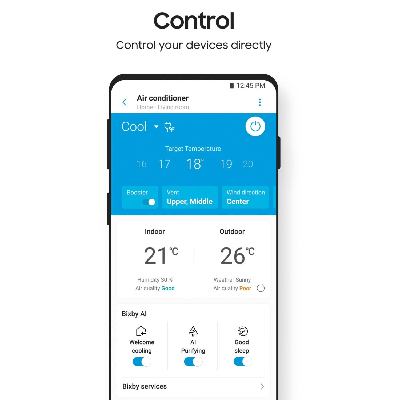 SAMSUNG Inverter-Split-Klimagerät Dual