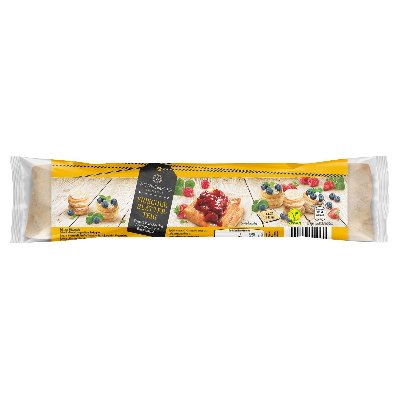 Wonnemeyer Feinkost Frischer Blätterteig 275 g