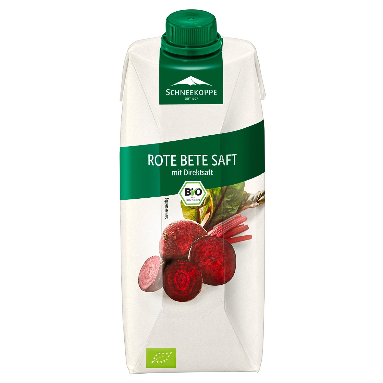 Schneekoppe Bio Rote Betesaft  500 ml