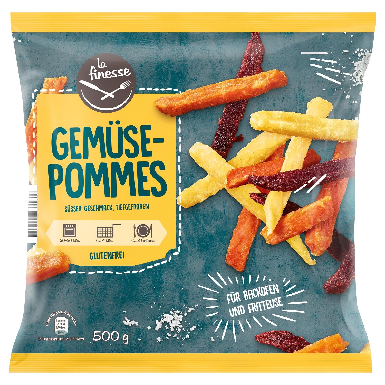La finesse Süßkartoffel-/Gemüse-Pommes 500 g