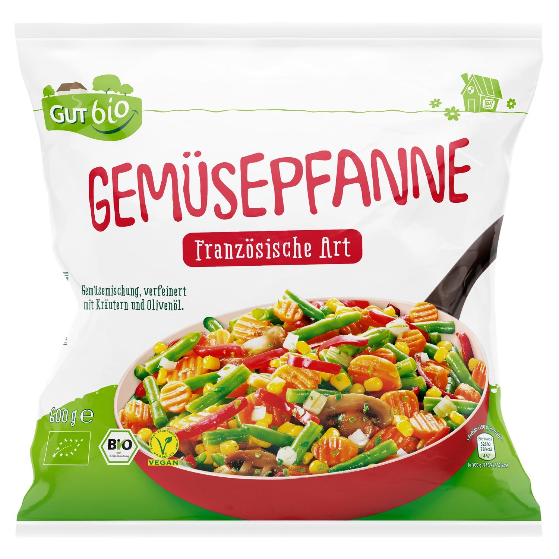 Gut bio Bio-Gemüsepfanne 600 g