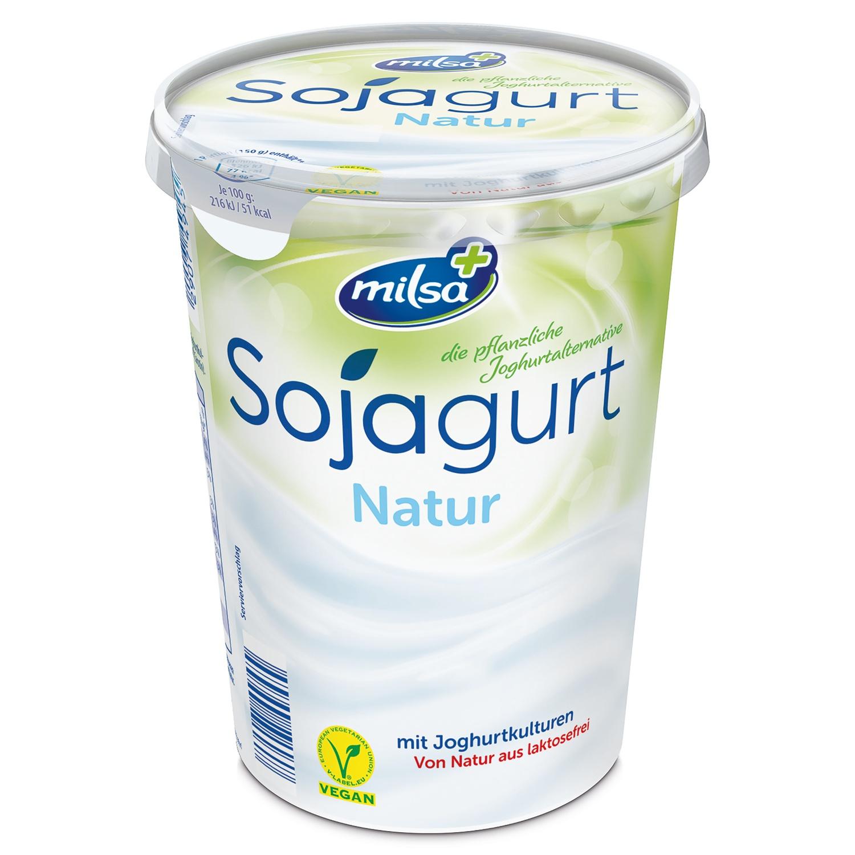 milsa+ Sojagurt 500 g