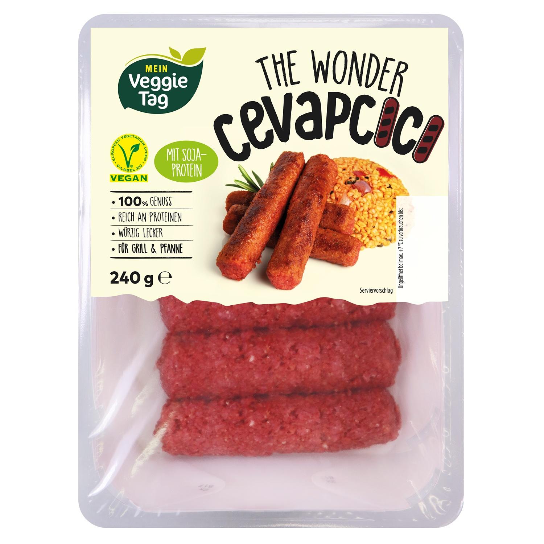 Mein Veggie Tag The Wonder Cevapcici 240 g