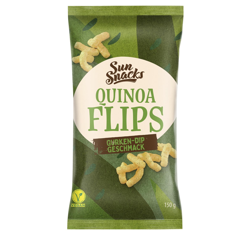 Sun Snacks Quinoa-Flips 150 g