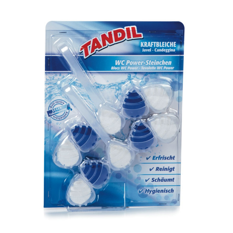 TANDIL WC-Power-Steinchen, Kraftbleiche