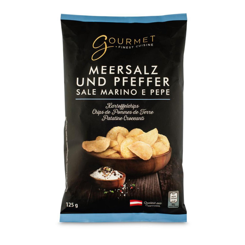 GOURMET Chips, Meersalz Pfeffer