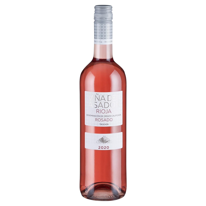 VINA DEL ASADOR Rioja DOCa Rosado 0,75 l