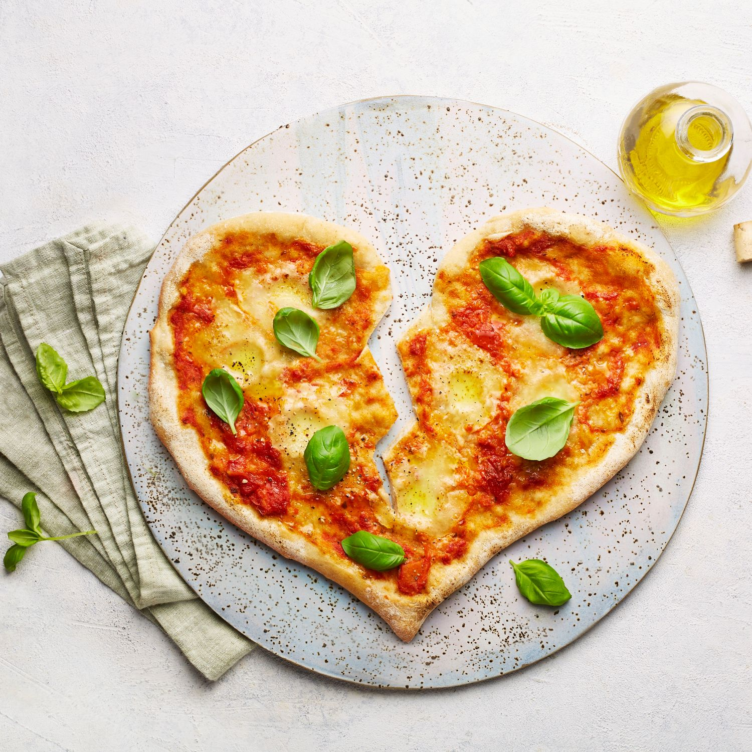 Valentinstags-Pizza