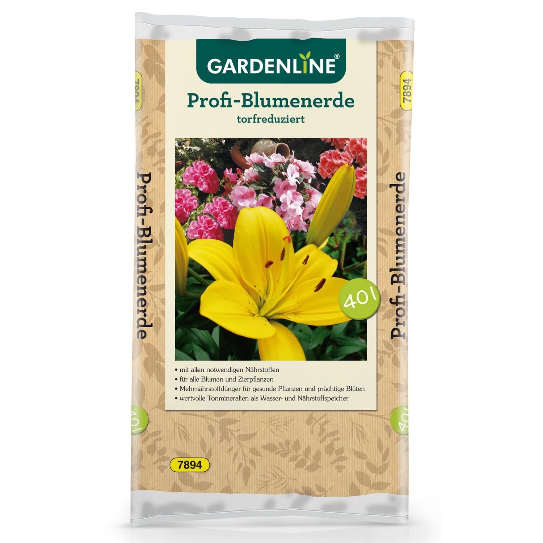 GARDENLINE Profi-Blumenerde 40 l